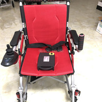 Free shipping lightweight power wheelchair pour fauteuil roulant lectrique electric wheelchair joystick controller for disabled