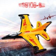2016 nova F16 ws9106 Espuma planador de asa fixa rc Controle Remoto EPP avião 4CH RC Avião 150 m modelo de aeronave de Controle crianças Menino brinquedos