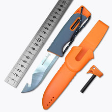 High Quality Diving Knife Versatile Tactical Survival Knife 6 Colors Optional HD2 Steel Multi Function Camping Knife