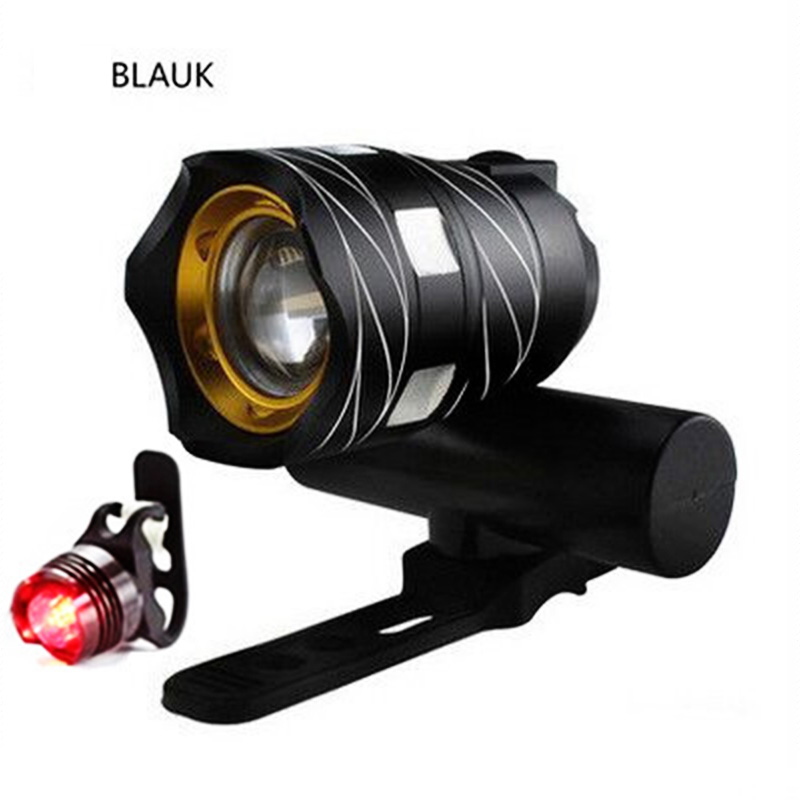 USB Rechargeable LED Bike Lights Headlight Cycling Flashlight Front Bike Lamp in Bicycle Light from Sports Entertainment