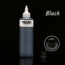8oz Dynamic Black Tattoo Ink Lining Shading Shader Paint Tattoo Ink Supply High Quality - Free Shipping high quality dynamic tattoo ink for tattoo kit white 8oz tattoo pigment 1 bottle lot