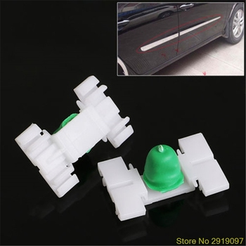 New Hot 20 Pcs Exterior Door Fender Moulding Trim Clip For BMW E36 E46 323 325 328 330ping Support image