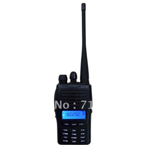 Hot Sale New 100% MT777 UHF/VHF Portable Handheld FM Transceiver Two-way Radio 128CH Walkie Talkie Interphone