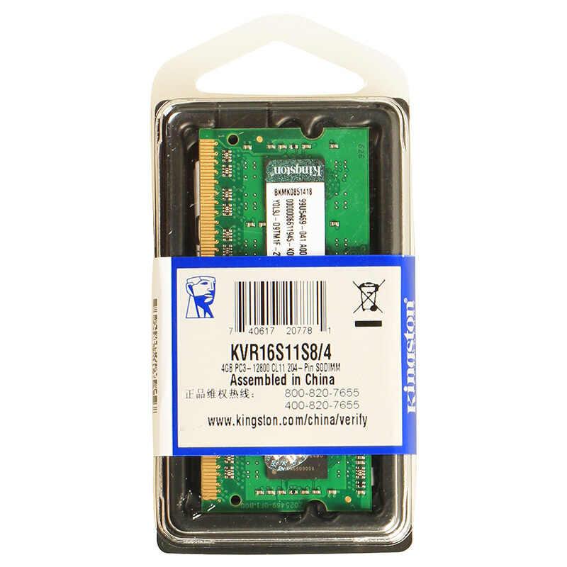 キングストン ValueRAM 4 ギガバイト 1600MHz PC3-12800 DDR3 非 ECC CL11 SODIMM SR x8 ノートブックメモリ KVR16S11S8/4