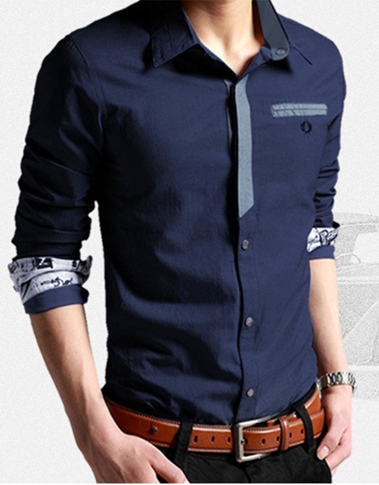 Korean Clothes Men Shirt Long Sleeve Streetwear Beach Summer Shirt Casual Slim Fit High Quality Hawaiian Mens Dress Male Shirts 10