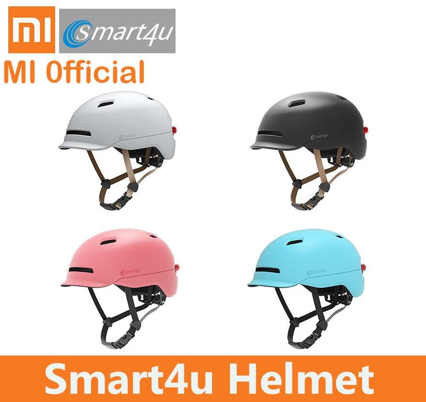 xiaomi smart4u helmet Waterproof new Bicycle Smart FlashMatte Long Use Helmets Back Light Mountain Road Scooter