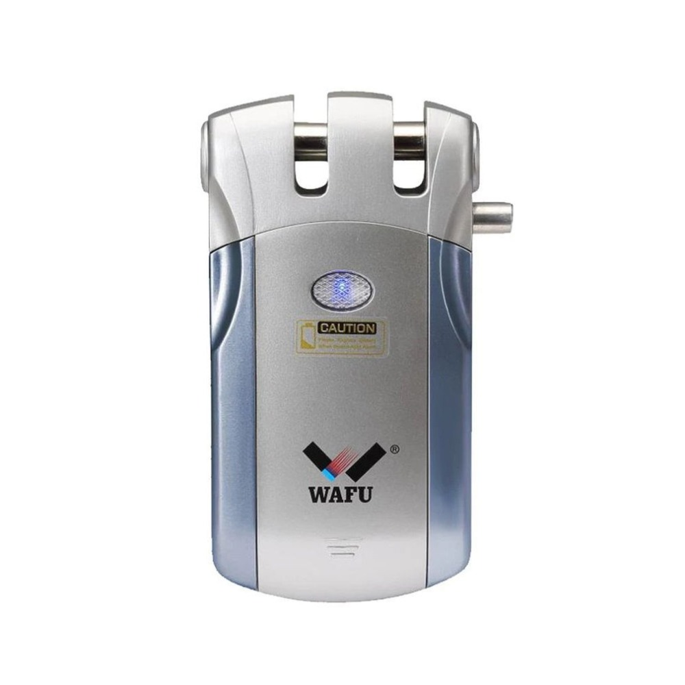 Wafu 019 Electric Bluetooth Door Lock With Remote Control/Touch Invisible Smart Lock Wholesale Spain Warehouse 433mhz