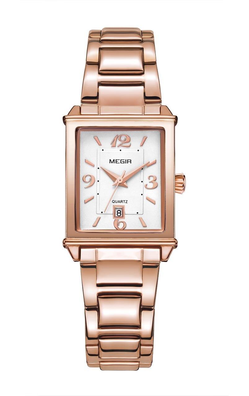 Relógio de Ouro Pulseira de Relógio de Luxo Senhoras da Moda Mulheres Rosa Relógios Relógio Feminino Reloj Mujer Montre Femme