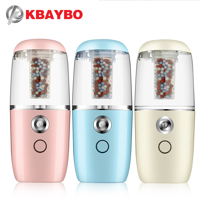 KBAYBO USB Mini Portable Humidifier Air Purifier Car Diffuser with filter Ultrasonic Humidifier Air Diffusers Rechargeable Use