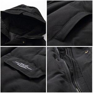 Image 5 - Pioneer camp novos homens jaqueta de inverno marca roupas moda grosso quente casaco masculino de alta qualidade parka masculino preto verde amf801453