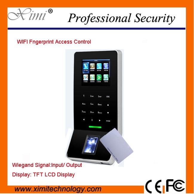 Zk Tcp/Ip Wifi Network Wiegand Reader Fingerprint Reader Biometric Access Controller 2 8 inch color display tfs20 biometric fingerprint access controller tcp ip fingerprint access control reader optional