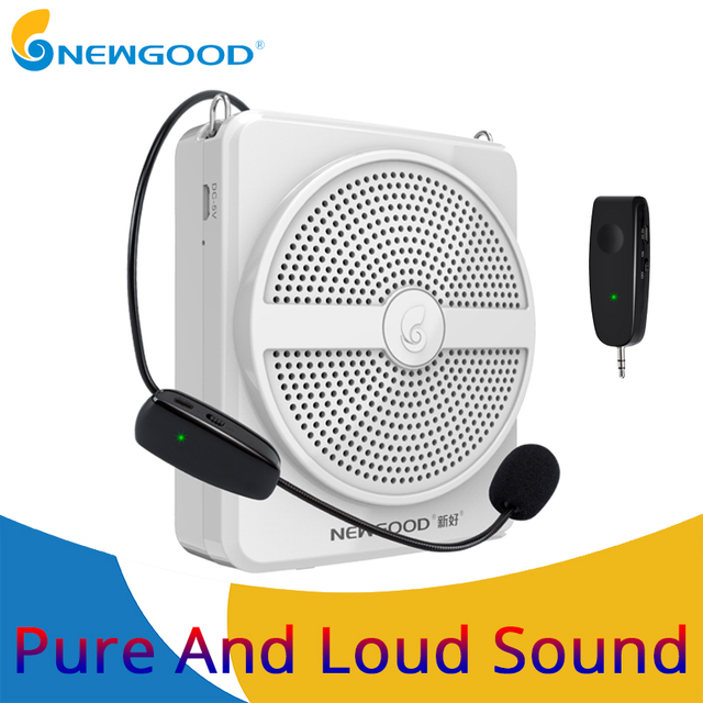 10W Mini Audio Speaker Portable Voice Amplifier Stereo Sound Microphone Loudspeaker tf card for teachers Tour Guide Speech
