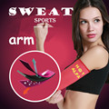 Arm Sweat Shaper Sauna Slimming Fat Burn Calories Off Fitness Weight Loss Arm Supports Thin Bodybuilding Arms Warmer Belt