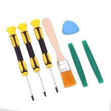 Cewaal 7Pcs T6 T8 T10 Screwdriver Disassemble Repair Screw Tools For Xbox 360 Video Game Console