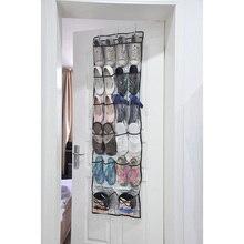 22 Карманов Ясно Над Дверью Висит Подвал Гостиная Мешок Хранения Обуви Вешалка Хранения Tidy Организатор