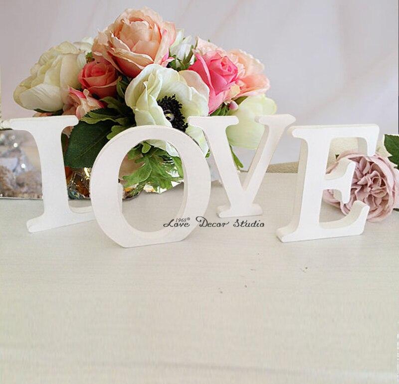 Бесплатная доставка любовь свадьба вход свадьба украшения письма свадьбы опора