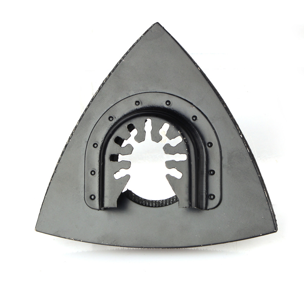 1Pc 82mm Multitool Blades Sanding Pad Reciprocating Saw Blade Flush Triangular Oscillating For Home Power Tool Fein Multimaste