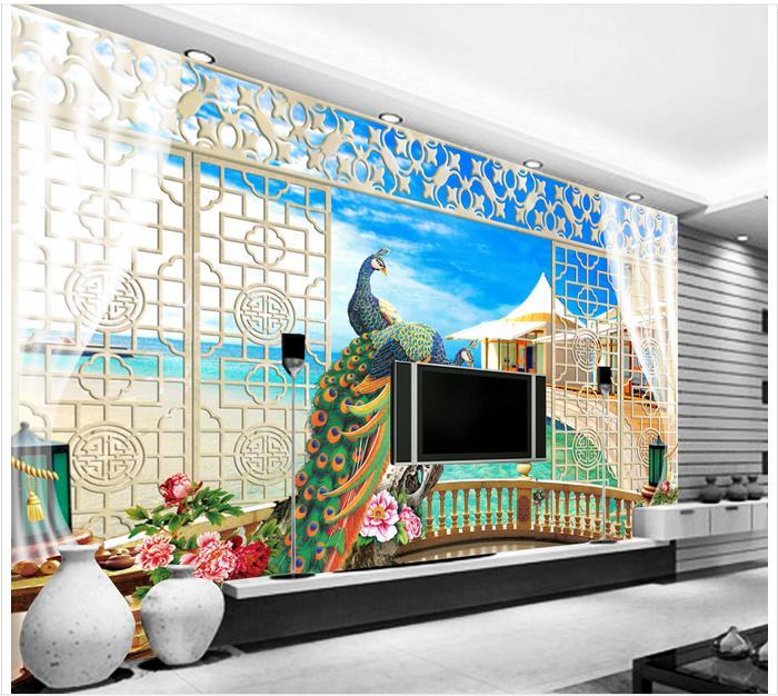 Personnalisé 3D Papier Peint Pour Les Murs 3 D Murale Papier Peint