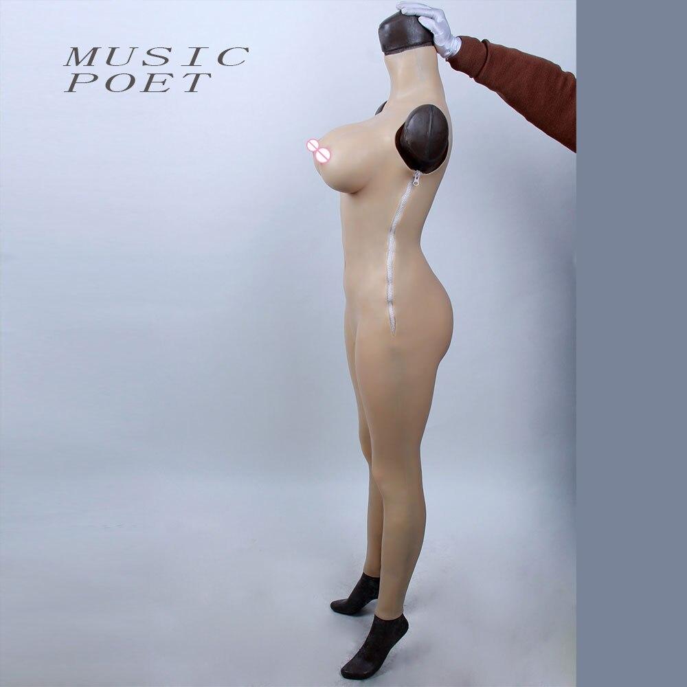 Female vagina body suit