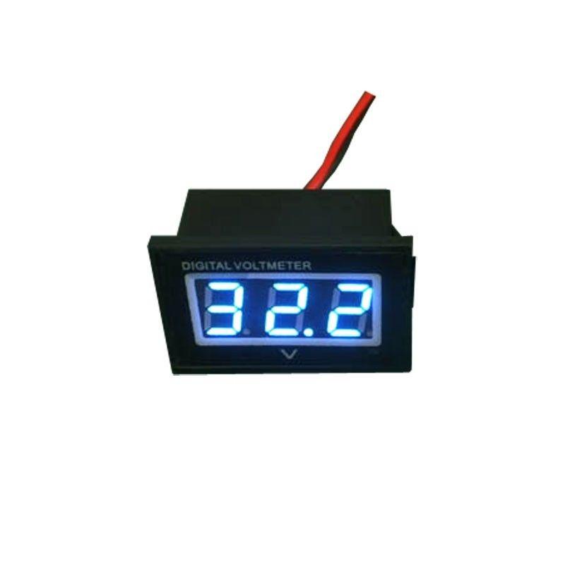 1 PC Hot Selling Blue Led 36V Golf Cart Digital Volt Meter Battery Gauge Club Car 36 Volt