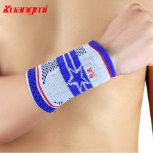 KuangMi Sports Basketball Volleball Badminton Wrist Support Palm Protector Men and Women Tennis Protection km3303