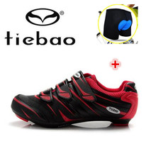 TIEBAO Road Cycling Shoes 2017 Men Self-locking add underwear Bicycle Bike Shoes Racing Scarpe Cycling Shoes Zapatillas Ciclismo