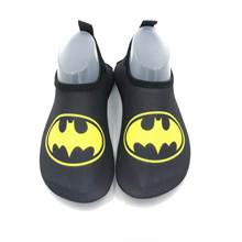 Cute Cartoon Kids Beach Shoes Non-slip Girls Swimming Ultralight Barefoot Skin Soft Water Socks Children for Boys