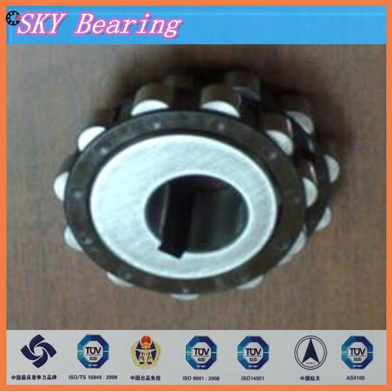NTN double row eccentric bearing 25UZ21413-17T2,25UZ2141317T2,25UZ2141317 T2 brass cage double row eccentric bearing rn205 eccentric collar