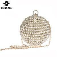 Новый 2018 Роскошные для женщин бисер Алмаз сумочка золотые свадебные клатчи вечерние клатч кристалл сумка со стразами сумочки для вечеринок