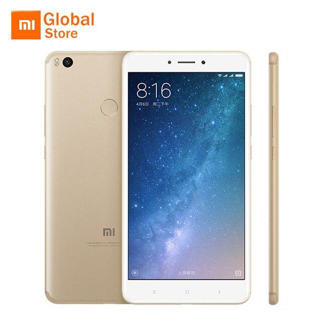 """Глобальный Встроенная память Оригинал Сяо Mi Max 2 4 ГБ Оперативная память 128 ГБ мобильный телефон Snapdragon 625 Octa core 6.44 """"1080 P Дисплей 5300 мАч Батарея"""