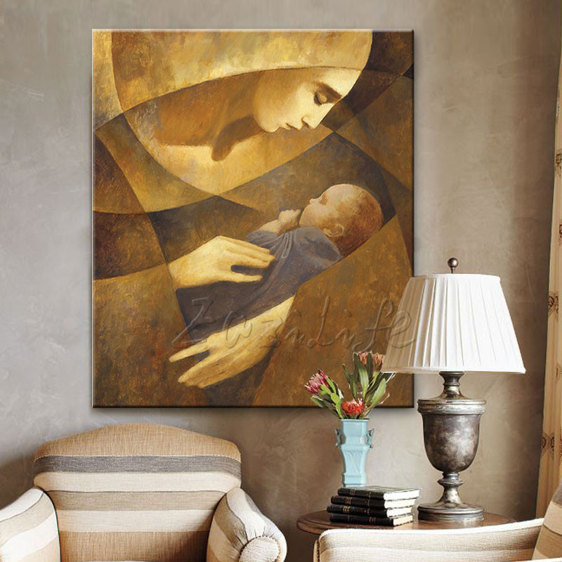 Home Interior Jesus: Home Decor Jesus Christ Virgin Many Art Decor Painting