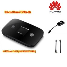 49dbi TS9 Antenna+Huawei E5372s 4G LTE TDD 2300Mhz 3G 900/2100Mhz Mobile Wifi Hotspot Router+ Thick battery 3560mAh
