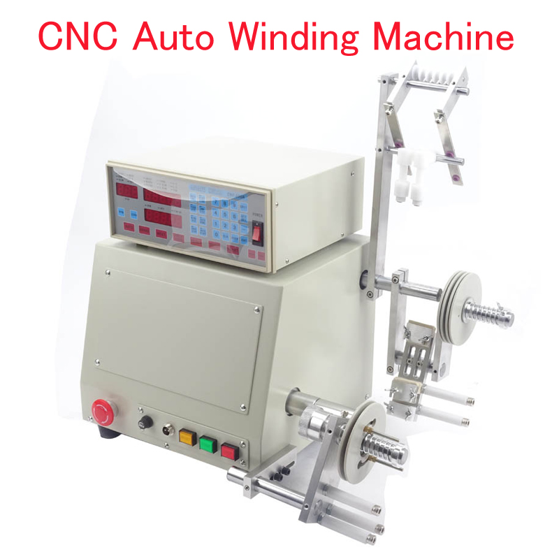 110V/220V CNC Automatic Wire Winding Machine CNC Coil Winding Machine Wire Winding Machine for 0.03-1.2mm Wire micro computer cnc automatic coil winding machine coil wire winder ds 200a
