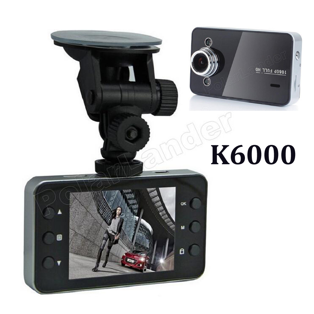 Full HD 1080P K6000 Car DVR 2 7 TFT Screen video Recorder Motion Detection font b