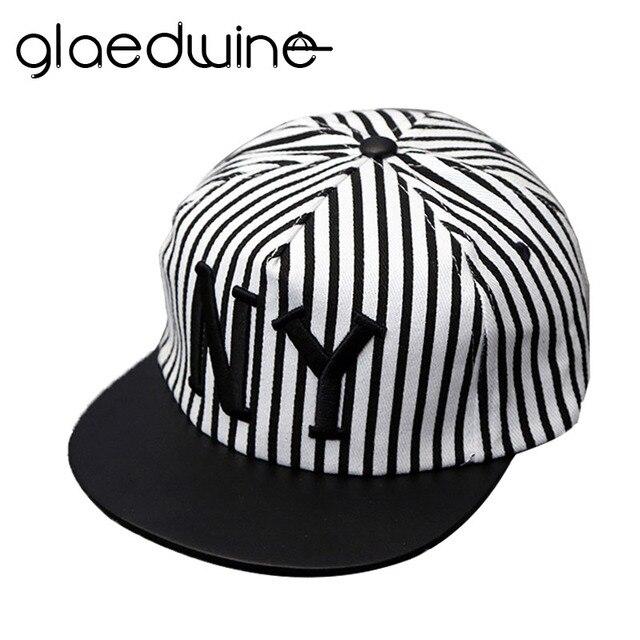 Glaedwine Katun Topi Baseball NY topi Snapback anak orangtua-anak Topi  Untuk Pria wanita Topi 8bec517cd2