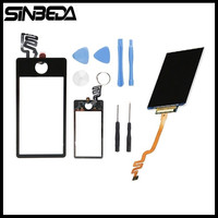 AAA Quality LCD Display Touch Screen With LCD Digitizer Assembly For Ipod Nano 7 7th Free