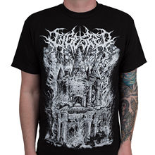 "Футболка с надписью ""thentic INGESTED Band Slam Metal Ist Krieg Deathcore"", S-3XL, новые модные футболки унисекс, футболка"
