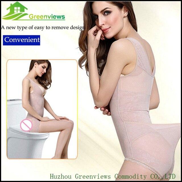 9ba85ddefe 1pcs lot Lover Beauty Seamless Body Shaper Open Bust Shapewear Firm Control  Bodysuit For Women Tummy Control Underbust Slimming