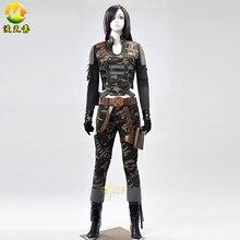 2017 Nueva Llegada del traje de Cosplay de juego Fresco Mujer Soldado Carácter en caliente Asalto Fuego Traje Completo Para Las Mujeres