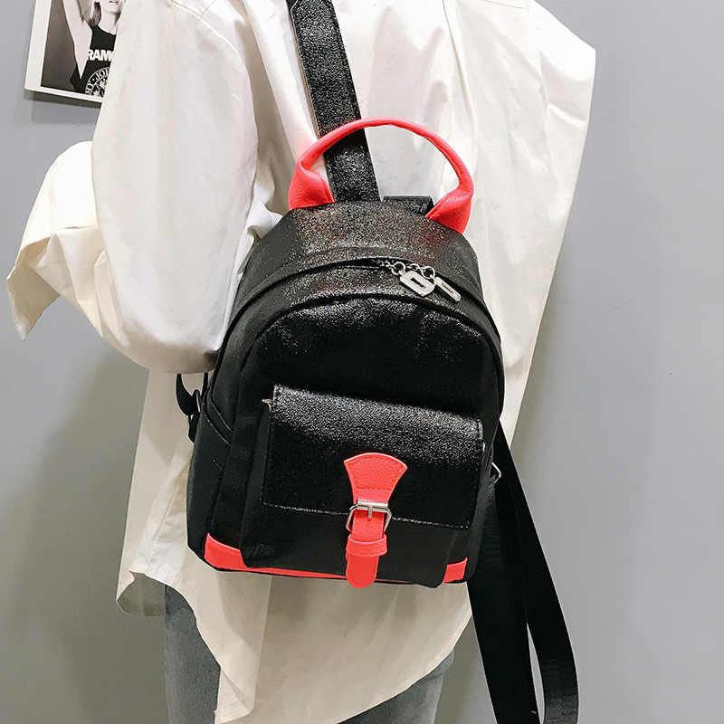 Мини-молодежная Женская забавная сумка, женская сумка через плечо, Классический рюкзак для подростков, модная дорожная сумка, женская сумка, шикарная цветная сумка