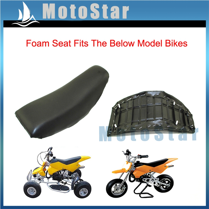 Tremendous Black Tall Gripper Cover Seat Honda Crf Crf70 70 90 110Cc Creativecarmelina Interior Chair Design Creativecarmelinacom
