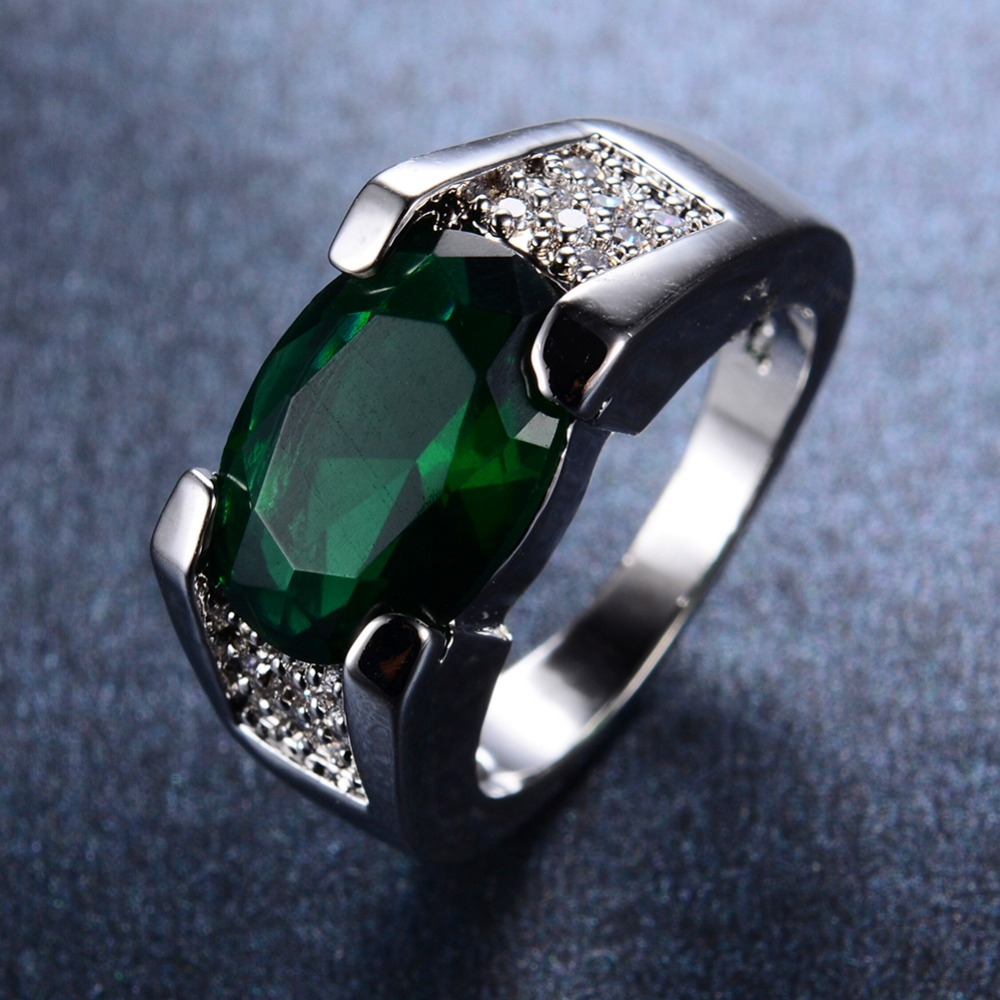 popular mens emerald rings buy cheap mens emerald rings. Black Bedroom Furniture Sets. Home Design Ideas