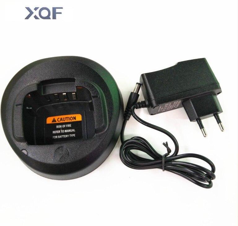 bilder für Schwarz ni-mh akku-ladegerät für motorola walkie talkie cp185 ep350 cp476 cp477 cp1300 cp1600 cp1660 p140