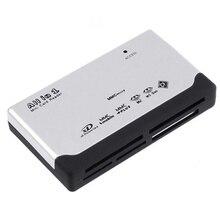 Все-в-1 кард-ридер USB 2,0 компьютер ноутбук смартфон компоненты Micro SD XD MMC MS CF SDHC TF карты памяти аксессуары