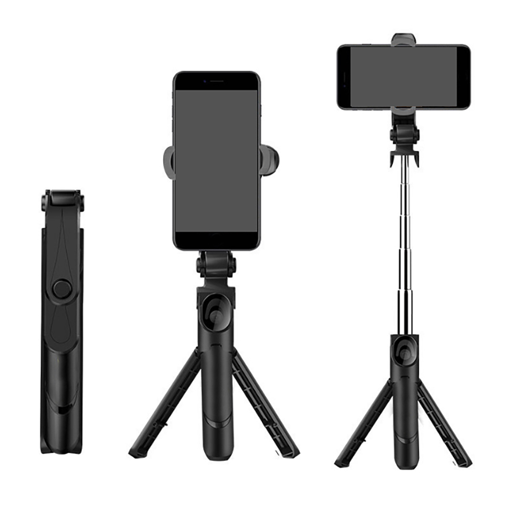 Tripod Monopod Selfie Stick Bluetooth With Button Pau De Palo Selfie Stick For Iphone 6 7 8 Plus Android Phone Live Broadcast снегокат sport elite снежок