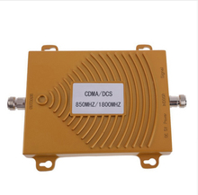 Newest High Gain CDMA 850 mhz Signal booster Dual band CDMA 4G DCS mobile phone signal repeater 850mhz 1800mhz signal Amplifier