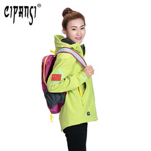 cheap Female Camping Hiking Coat Waterproof Jacket Windbreaker Hooded Outdoor For Women Ski Sport Clothing Female Jacket G-4566