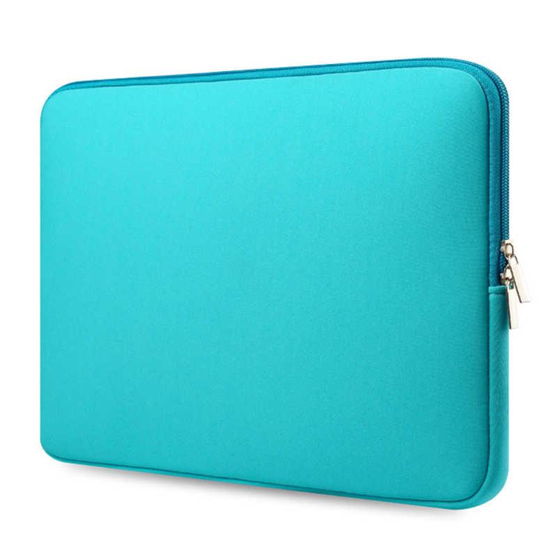 Funda de ordenador con cremallera al por mayor para Macbook Laptop AIR PRO Retina 11 12 13 14 15 15,6 pulgadas portátil Touch Bar 15,6 bolsa