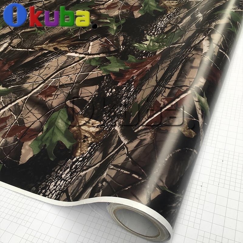 buy real tree leaf camouflage film mossy oak camo vinyl wrap sticker car. Black Bedroom Furniture Sets. Home Design Ideas