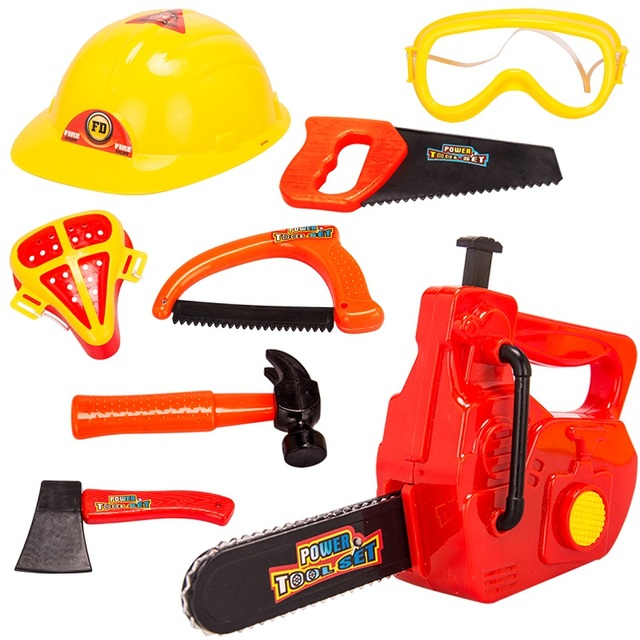 Construction Play Toys : Kids repair tools toys children pretend play construction